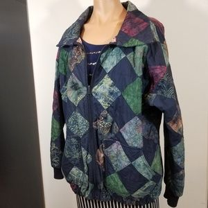 RARE Vintage Victorian Hearts patchwork jacket